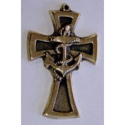 Croix d'aumônier marine