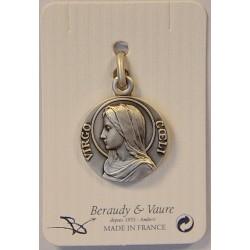 Médaille de la Vierge finition Argent