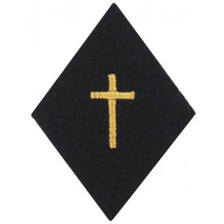 Losange de bras Aumônier Catholique avec velcro