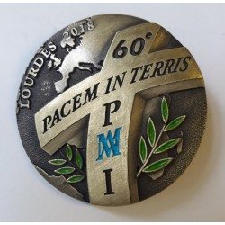 Insigne du 60ème Pélerinage Militaire International