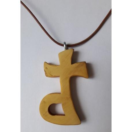 Croix Diaconale en olivier (faite main)