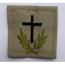 Insigne velcro OPEX basse visibilité : aumônier du culte catholique