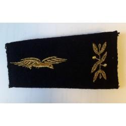 Epaulettes aumônier armée de l'Air Rameaux (vendu par paire)