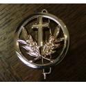 insigne de béret : aumônier catholique (ou protestant)