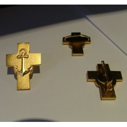 Croix d'aumônier de marine (crochet)